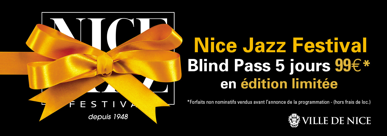 Blind pass Nice Jazz Festival 2017