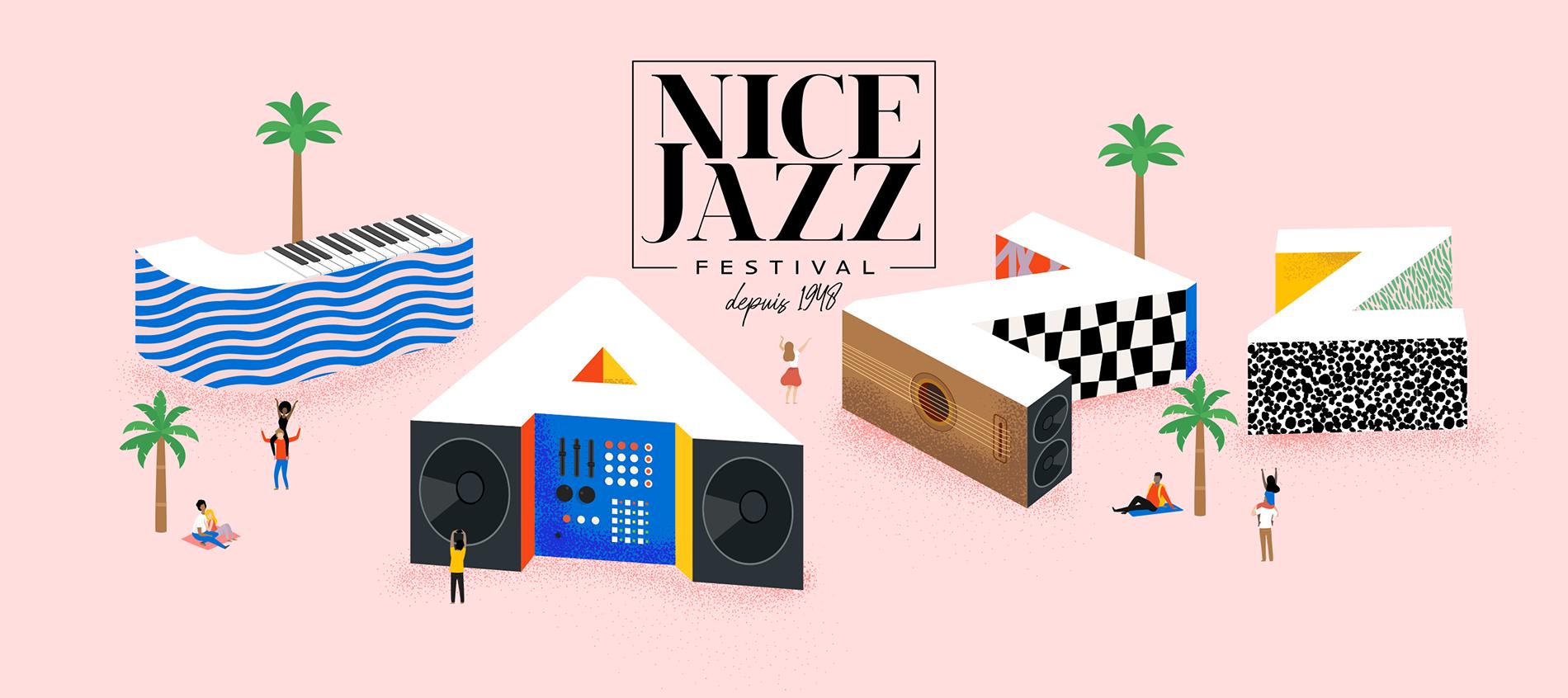 Nice Jazz Festival 2021 (logo)